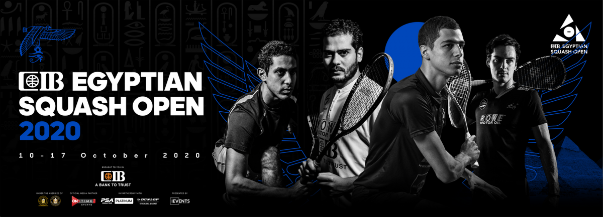 CIB Egyptian Squash Open 2020